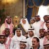 أمير منطقة مكة ونائبه يستقبلان إدارة ولاعبي الاتحاد أبطال كأس الملك