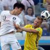 مونديال كأس العالم : السويد تتفوق على كوريا الجنوبية بهدف دون رد