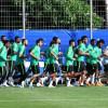 بالصور : المنتخب الوطني يواصل تدريباته استعدادًا لمواجهة الأوروغواي
