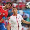 صور من لقاء كوستاريكا وصربيا – مونديال كأس العالم