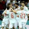 مونديال كأس العالم : اسبانيا تتجاوز المنتخب الايراني بهدف كوستا