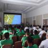 بالصور : وفد من اللجنة المنظمة لكأس العالم يجتمع ببعثة المنتخب الوطني