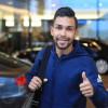 محترف النصر بيتروس يصل الى سويسرا والفريق يواصل تحضيراته