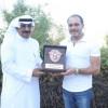 الامير علي بن الحسين يستقبل المشرف العام على كرة القدم بنادي احد