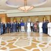 اللواء المرزوقي يكرم الدكتور القناص بحضور رئيس الاتحاد الدولي للكاراتيه
