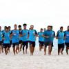 رمال شواطئ سوسة تُجهز لاعبي الجيل خلال معسكر تونس