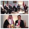 نقل له تحيات خادم الحرمين الشريفين ،، الأمير عبدالعزيز الفيصل يلتقي الرئيس الإندونيسي بجاكرتا اليوم
