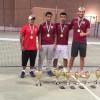 فريق التنس الأرضي بالنادي الفيصلي يحقق المراكز الأولى في بطولة أندية سدير والزلفي
