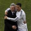 أنشيلوتي: رونالدو يجب أن يحقق الكرة الذهبية دائما