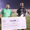 مبولحي ينال جائزة أفضل لاعب وهزاع يشارك في التدريبات الجماعية