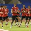 مناورة مغلقة تعد الاتفاق للأهلي وحسن جمال يلتحق بالفريق بعد مشاركته مع المنتخب
