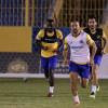 كارينيو يجري تدريبات تكتيكية لمواجهة النصر امام الاهلي