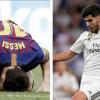 ريال مدريد يعاني من لعنة برشلونة