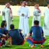 الحزم يستعد للنصر بإجتماع الرئيس مع اللاعبين