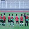 الاخضر الشاب يستأنف أولى تدريباته بعد الفوز على ماليزيا