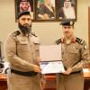 مدير عام السجون يكرم الرائد عبدالله الهاشم