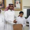 مدرسة مسلمة بن عبدالملك تكرم لاعب نادي جدة للكاراتيه محمد الزهراني