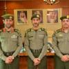 اللواء الدكتور خالد الهويش يقلد المقدم طارق الزهراني رتبته الجديدة