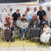 لاعبي النموذجي يشاركون بفعاليات المهرجان الوطني الترفيهي لذوي الإعاقة بالأحساء