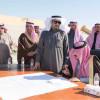 الأمير بدر بن سلطان يزور منشأة نادي القريات الرياضي