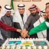 محافظ رفحاء يستقبل رئيس ولاعبي نادي التضامن بعد تحقيقهم بطولة الشمالية