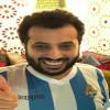 آل الشيخ يحتفل بالفوز في مواجهة الأهلي المصري