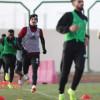 الفيصلي يجري مرانه الرئيس إستعداداً لمواجهة نادي النصر