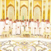 رحب بهم ال الشيخ وحضروا إحدى الجلسات ،، متوسطة معهد العاصمة النموذجي تزور مجلس الشورى