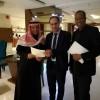 القنصلية المصرية تكرم عبدالعزيز الدوسري والنباط