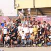 رئيس اتحاد الرياضات اللاسلكية يتوج الفائزين في بطولة الخرج للسيارات اللاسلكية