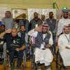 عدد من جمعيات ذوي الإعاقة تزور نادي الفتح