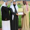 الثقبة يقدم العضوية الشرفية للأستاذ محمد عبدالله البيشي