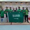 اخضر الصم ينتزع ٦ ميداليات في ملتقى المغرب الدولي