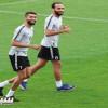 شرفي هلالي يحفز اللاعبين قبل مواجهة الأهلي