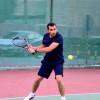 """المدرب """"الحزيري"""" بطل رواد العرب لكرة التنس الأرضي بالأردن"""