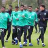 بالصور : الأخضر الشاب يواصل تدريباته استعدادًا لمواجهة فرنسا في المونديال