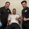 محمد سالم يبدأ برنامجه التأهيلي في عيادة نادي الشباب