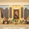 خادم الحرمين الشريفين يستقبل رئيس هيئة الرياضة ورؤساء الاندية
