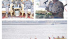 افتتاح مسابقة حرس الحدود للألعاب البحرية الثالثة بالدمام