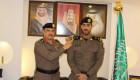 اللواء وليد الحربي يقلد الملازم اول علي الزهراني الرتبة الجديدة