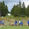 الفتح يتدرب على فترتين ضمن معسكر سلوفينيا