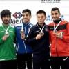 الزعبي ينتزع فضية الكاراتيه في بطولة العالم الـ 11 بتشيلي