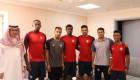 رئيس العدالة المضحي وعدد من اللاعبين يشاركون في حملة التبرع قطرة دم في سبيل الوطن