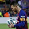 ميسي يحدد مصيره مع برشلونة