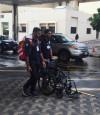 لجنة سباق الجري الخيري تتابع تجهيزات الوحدات الطبية المقدمة من المستشفى الجامعي
