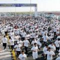 """(5000) متسابق .. حصيلة تسجيل اليوم الـ (6) في """" سباق الجري الخيري """""""