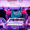 فرحة الراجحي فرحتان … الفوز برالي الشرقية وببُطولة السعودية تويوتا للراليات الصحراوية