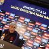 مدرب برشلونة يرد على فضيحة التسريبات