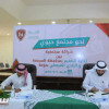 الفيصلي يوقع عقد شراكة مع إدارة التعليم بمحافظة المجمعة