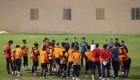 مدرب الفيحاء سيماو يغلق التدريات والرئيس يجتمع باللاعبين قبل لقاء الوحدة